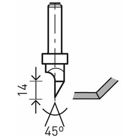 Festool Gipskartonfräser HW S8 D12,5/45° – 491000
