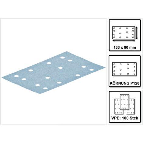 Festool Granat Schleifstreifen STF 80x133 P 120 GR 100 ( 497120 )