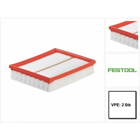 Festool HF-CT MINI/MIDI Filtres principal pour aspirateur CLEANTEC - 2 pièces ( 2x 456790 )