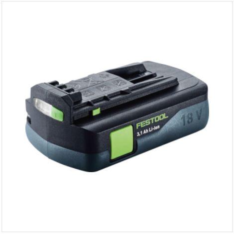 Festool HKC 55 Li EB Basic Scie circulaire sans fil avec boîtier Systainer + 1x Batterie BP 18 Li 3,1 C