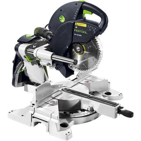 Festool KS 120 REB 260mm KAPEX Sliding Compound Mitre Saw 575305 110V