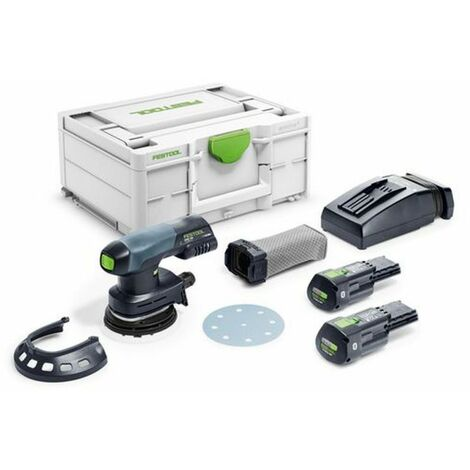 Festool Lijadora excéntrica a batería ETSC 125 3,1 I-Plus