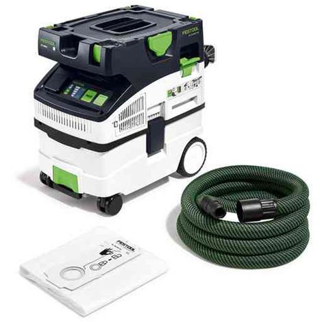 Festool Mobile Dust Extractor CTL MIDI I GB 240V CLEANTEC 574835:240V