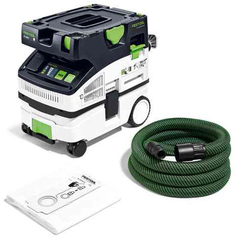 Festool Mobile Dust Extractor CTL MINI I GB 240V CLEANTEC 574843:240V