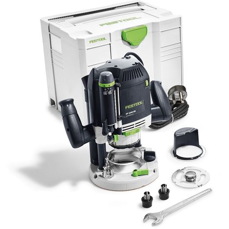 "Festool OF2200EB-PLUS 240V 1/2"" Router in T-Loc Systainer Case 574352"