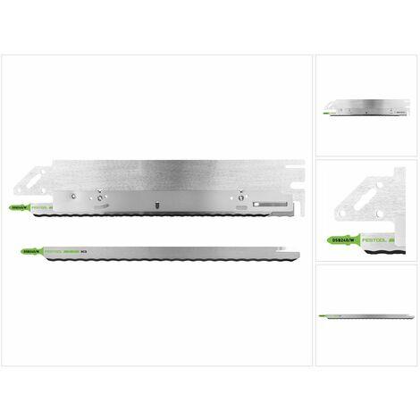 Festool Outil de coupe SG-240/W-ISC pour matériaux isolants + 1x Lame de scie DSB 240/W à denture ondulée pour Scie sans fil ISC 240 EB