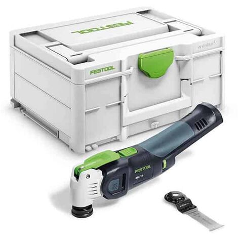 FESTOOL Outil oscillant 18V solo VECTURO OSC 18 E-Basic - 576591