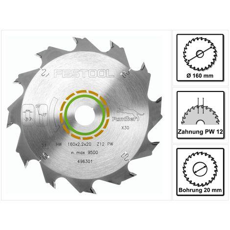 Festool Diamant-Sägeblatt 160x2,2x20 DIA4 201910 für TS 55 R und TSC 55