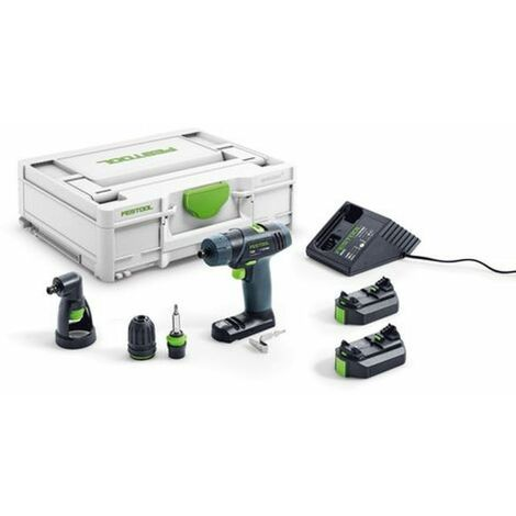 Festool Perceuse-visseuse sans fil TXS 2,6-Set