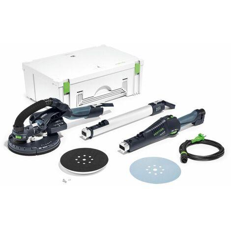 Festool PLANEX LHS 225 EQ-Plus S/W Ponceuse à bras 550 W en Coffret Systainer ( 575217 )