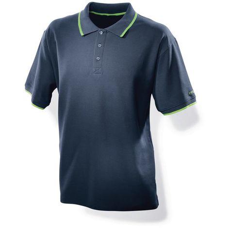 498453 Festool Polo-Shirt dark blue men Festool M