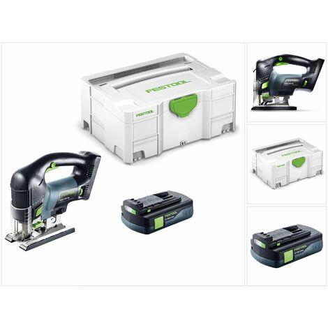"""main image of """"Scie sauteuse sans fil FESTOOL CARVEX PSBC 420 EB-Basic - Sans batterie, ni chargeur - 576530"""""""
