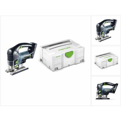 Festool PSBC 420 Li EB Basic Scie sauteuse sans fil CARVEX avec boîtier Systainer - sans Batterie ni Chargeur ( 201379 )