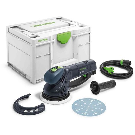 Festool Rotex RO150FEQ-Plus 240v Geared Eccentric Sander in Systainer
