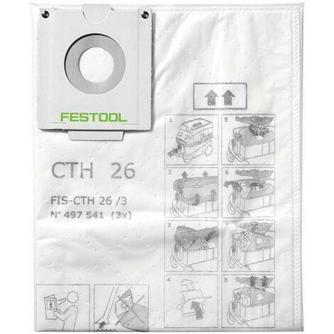 Festool Sac filtre de sécurité FIS-CTH 26/3