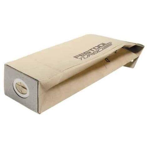 FESTOOL Sacs aspirateur filtre Turbo - TF II-RS/ES/ET