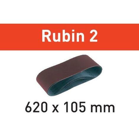 Festool Schleifband L620X105-P80 RU2/10 Rubin 2 – 499151