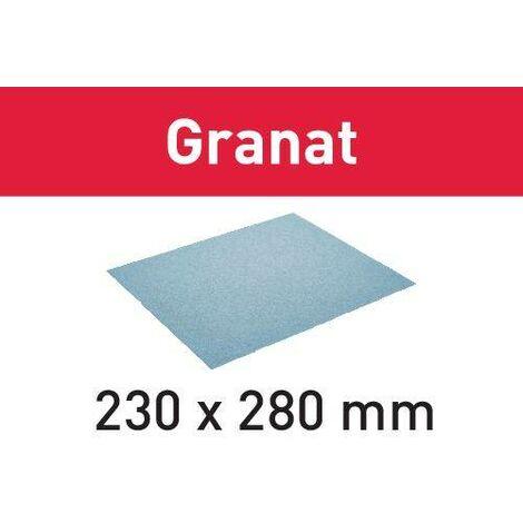 Festool Schleifpapier 230x280 P220 GR/10 Granat 201263