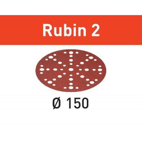 Festool Schleifscheibe STF D150/48 P150 RU2/10 Rubin 2 – 575183