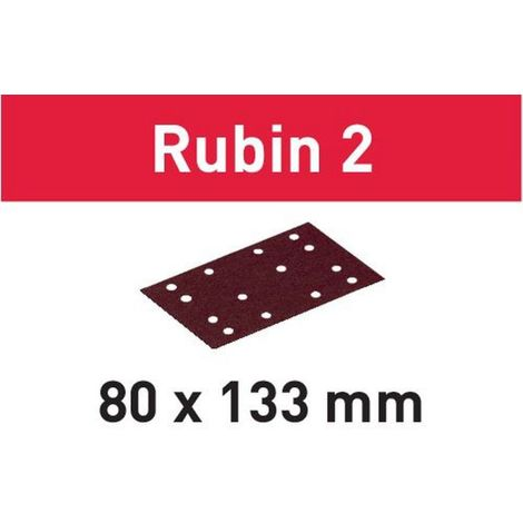 Festool Schleifstreifen STF 80X133 P180 RU2/10 Rubin 2 – 499060