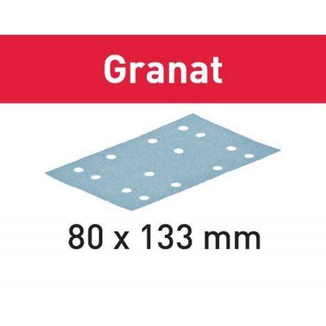 Festool Schleifstreifen STF 80x133 P80 GR/10 Granat – 497128