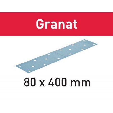 Festool Schleifstreifen STF 80x400 P180 GR/50 Granat – 497162