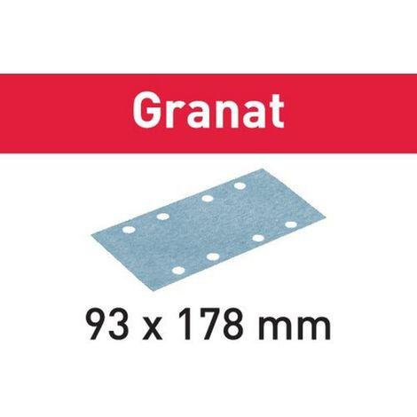 Festool Schleifstreifen STF 93X178 P220 GR/100 Granat – 498939