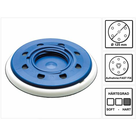 Festool Schleifteller ST-STF D125/8 FX-H FastFix 125 mm hart ( 492127 )