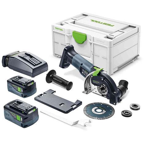 Festool Sistema di taglio a mano libera a batteria DSC-AGC 18-125 FH 5,2 EBI-Plus - 576830