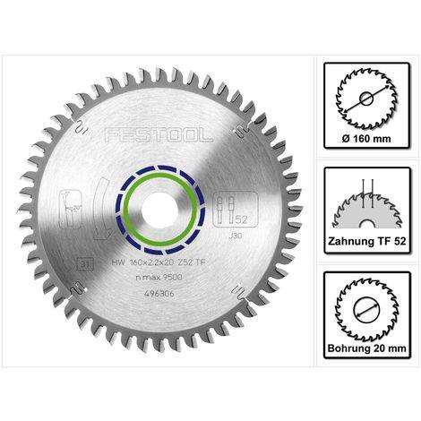 Festool Panther Sägeblatt 160 x 2,2 x 20 mm PW12 Nr 496301 für TS TSC ATF AP 55