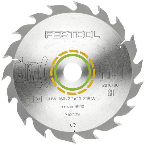 Festool Standard-Sägeblatt 160 x 2,2 x 20 W18