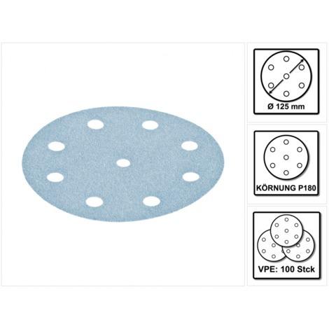 Festool Schleifscheiben STF D125//8 P360 GR//100 Granat 100 Stk