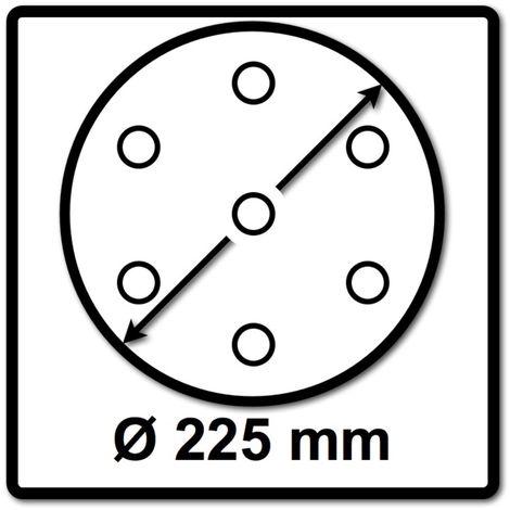 Festool STF D225 Disco de lijar Granat Soft 225 mm P180 GR S/25 - 25 unidades ( 204225 )