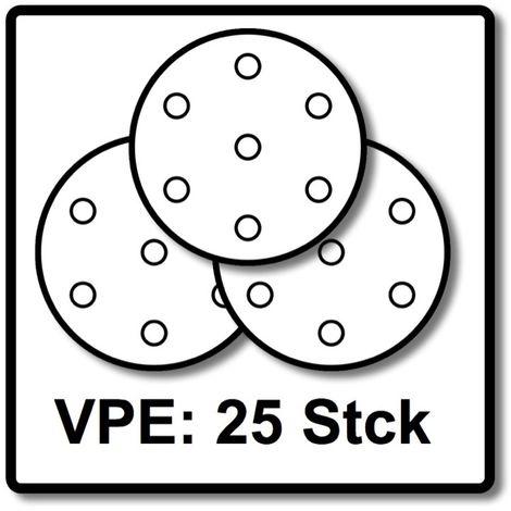 Festool STF D225 Disco de lijar Granat Soft P80 GR S/25 - 25 unidades ( 204221 )