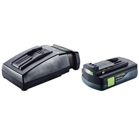Festool Sysrock BR 10 DAB+ Radio digital ( 202111 ) + 1x Batería BP 18 Li 3,1 C + Cargador TCL 6