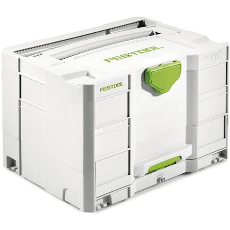 FESTOOL Systainer SYS-Combi 2 T-LOC 396 x 296 x 263 mm