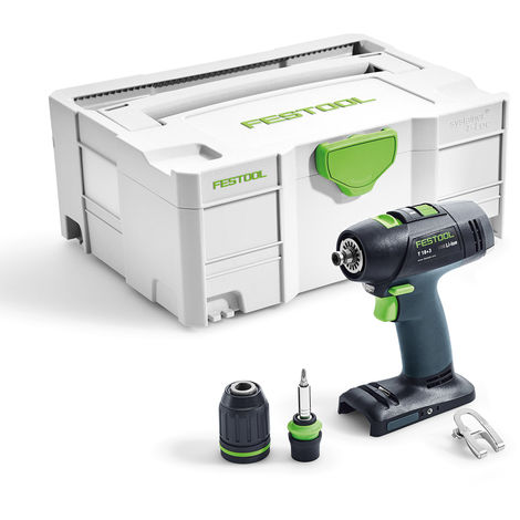Festool T 18+3 18V Li-ion Cordless Drill Body Only in Systainer-2 576448