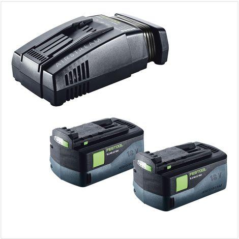 Festool T 18+3 Li-Basic Taladro atornillador a batería en Systainer ( 574763 ) + 2x Batería BP 18 Li 5,2 AS( 200181 ) + Cargador SCA 8 ( 200178 )