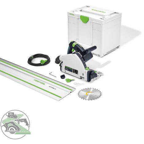 Festool Tauchsäge Set TS 55 FQ Plus FS 577015 Führungsschiene 1400/2 Systainer