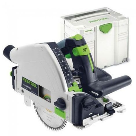 Festool TS55REBQ-Plus 240V Plunge Saw 561553 in Systainer 4