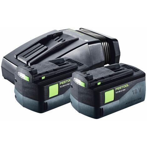Festool TSC 55 REB-Li Scie plongeante sans fil 18 / 36 V + Systainer + 2x Batteries BP + Chargeur TCL 6 + Lame de scie circulaire diamantée 160 x 2,2 x 20 DIA4