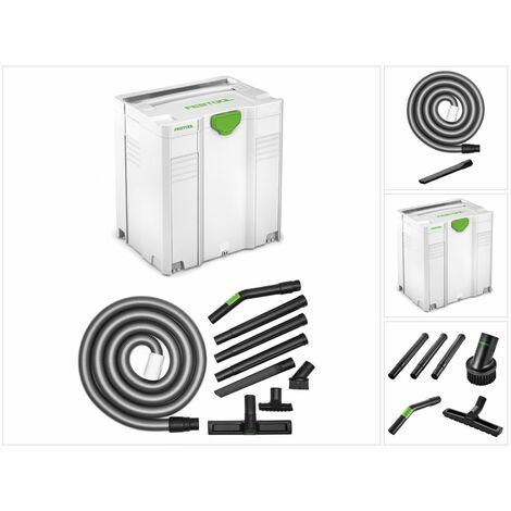 Festool Universal Kit de nettoyage D 36 UNI-RS-Plus + Coffret de transport Systainer ( 203435 ) - Nouvelle version de ( 497702 )