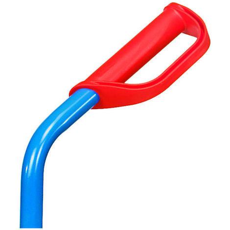 Fetra Handgriff mit Sicherheitsbügel für Stahlrohrkarren