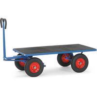 Fetra Handpritschenwagen mit Plattform, mit Vollgummi- oder Luftbereifung