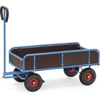 Fetra Handwagen mit 4 Wänden, 400kg Tragkraft