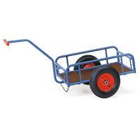 Fetra Handwagen mit Geländer, 250 mm hoch