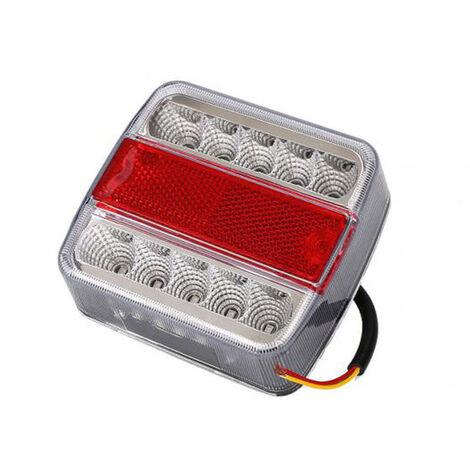 Feu arrière LED à 3 chambres - 12 volts - 2 pièces