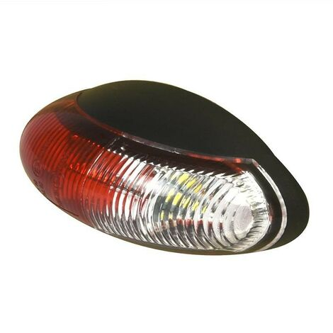 Feu de gabarit 10-30V rouge/blanc 60x34mm LED