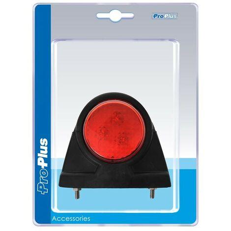 Feu de gabarit 12/24V rouge/blanc 101x82mm LED dans blister