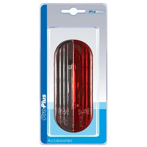 Feu de gabarit LED rouge/blanc gauche dans blister